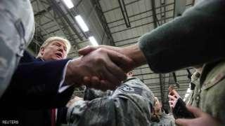 """ترامب في رحلة العراق: سواد كامل.. و""""أجواء لم أعشها أبدا"""""""