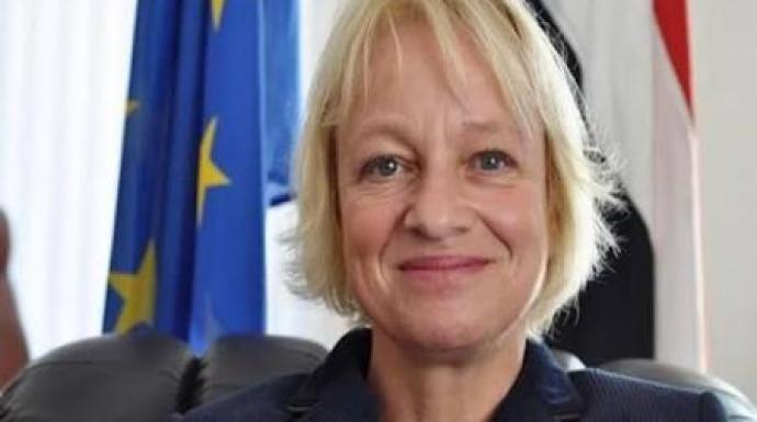 رئيسة بعثة الإتحاد الأوروبي لدى اليمن تصل لعدن اليوم