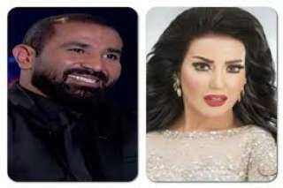 سمية الخشاب تتهم أحمد سعد بالشروع في قتلها!