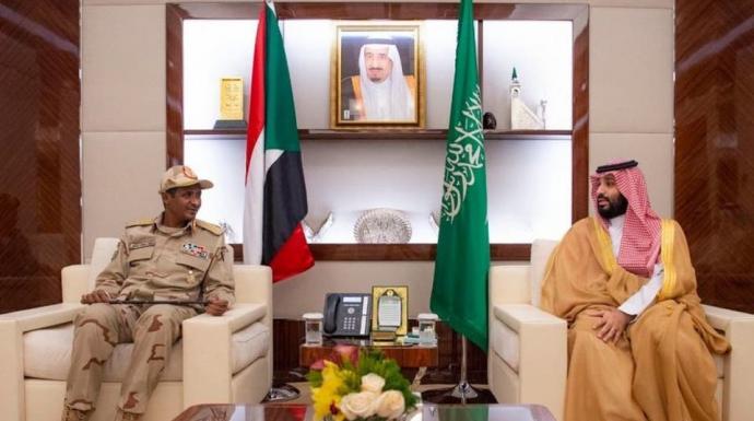 الانتقالي السوداني يؤكد دعمه للسعودية ضد تهديدات إيران