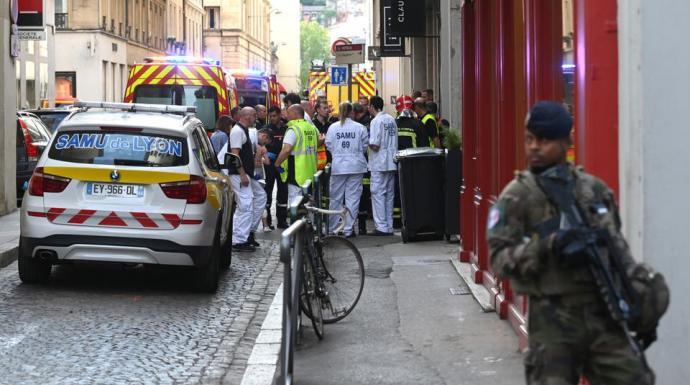 إنفجار في ليون الفرنسية بطرد مفخخ