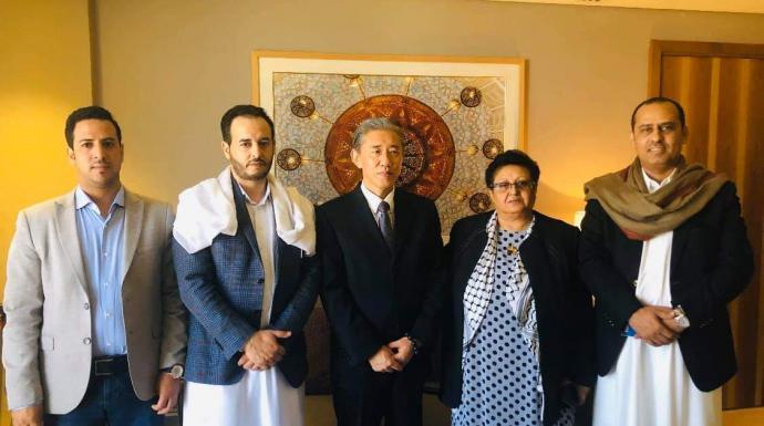 بحضور الأمين العام المساعد قيادات مؤتمرية تلتقي بالسفير الصيني