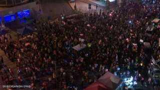 """لبنان.. الآلاف يحتشدون وسط بيروت للمطالبة بحكومة """"تكنوقراط"""""""