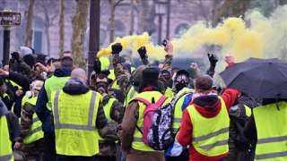 رغم تفشي «كورونا».. تظاهرة لـ«السترات الصفراء» في باريس