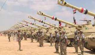 القوات المسلحة المصرية تعلن بدء الاستعداد القتالي على حدود ليبيا