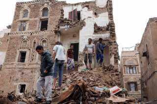 """""""كارثة إنسانية غير مسبوقة"""" السيول تهدد المدن التاريخية في اليمن."""