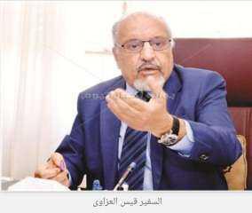 السفير قيس العزاوي يطالب بضرورة حل القضية اليمنية والليبية والسورية