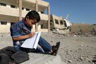 الهجرة الدولية: الحرب دمرت 20% من مدارس اليمن
