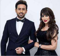 الفنان اليمني فؤاد عبدالواحد يحسم جدل زواجه من ملكة جمال البحرين