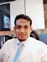 الدكتور عمر باصالح مختبرات لايف لاين  للتحاليل الطبية قلب كبير وتعامل إنساني للمرض اليمنيين في مصر