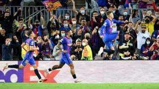 برشلونة يحقق فوزه الأول في دوري الأبطال هذا الموسم على حساب دينامو كييف